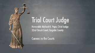 """MSC Learning Center """"Careers in the Courts"""" - Judge Michael Pope"""