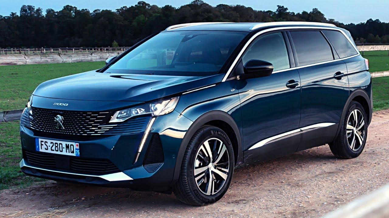 2021 Peugeot 5008 Gt 7 Seater Stylish Suv Youtube