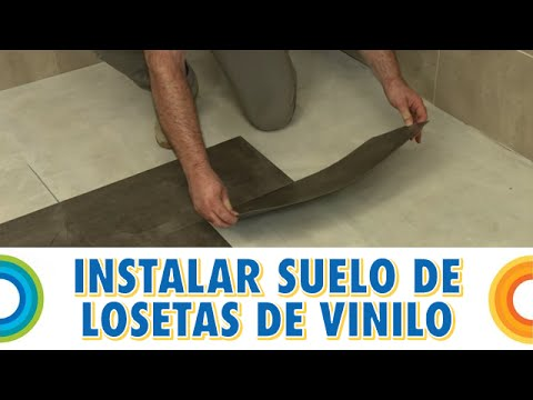 Instalar Un Suelo De Losetas De Vinilo (Bricocrack)   YouTube
