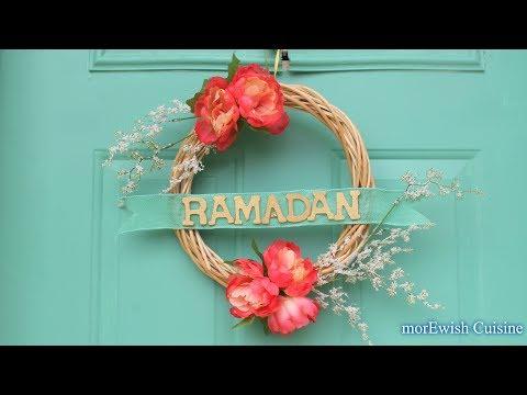 Ramadan Wreath | ڈی آۂی وای رمضان ڈیکور Ramadan Kareem | DIY Ramadan decor by morEwish