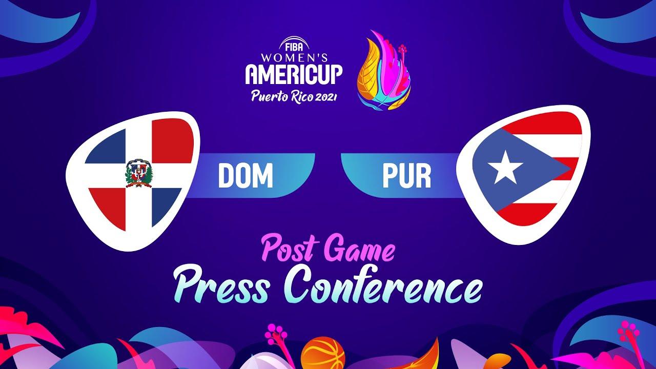 Dominican Republic v Puerto Rico - Press Conference | FIBA Women's AmeriCup 2021
