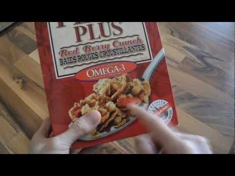 Review Nature's natures path flax plus red berry crunch organic omega-3 omega 3 cereal