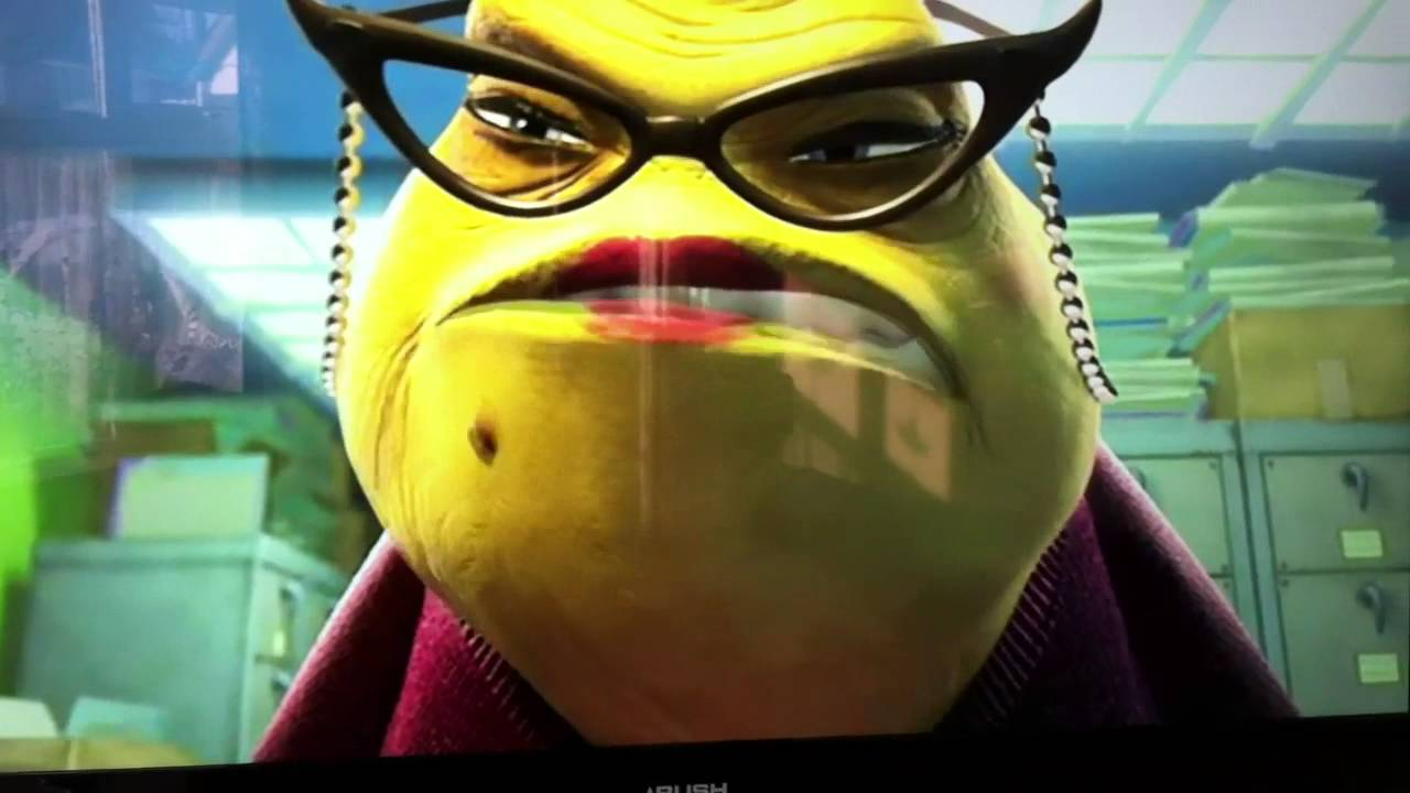 Uncategorized Roz From Monsters Inc mike wazowski im watching you monsters inc youtube