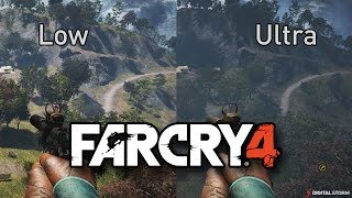 Far Cry 4 Graphics Comparison - Ultra to Low PC