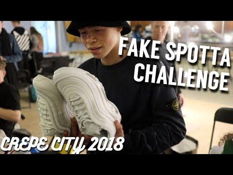 NIKE AIR MAX 97 FAKE SPOTTA CHALLENGE | CREPE CITY