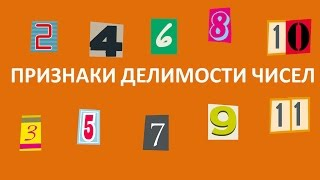 Признаки делимости чисел видеоурок Математика
