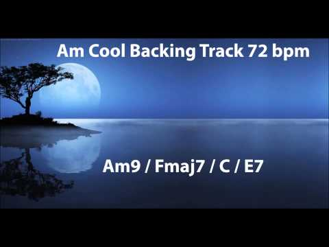 Cool backing track - Am 72bpm | SoloPerfect |