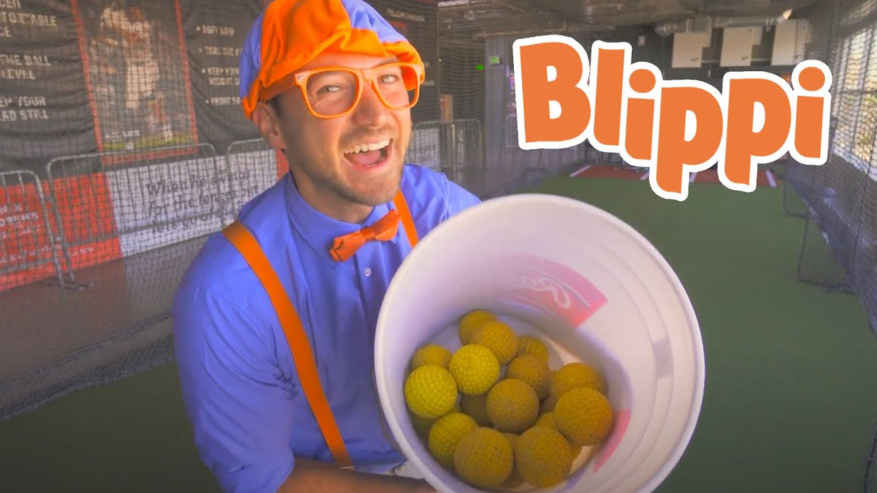 Blippi Learns About Sports For Kids   Educational Videos For Kids