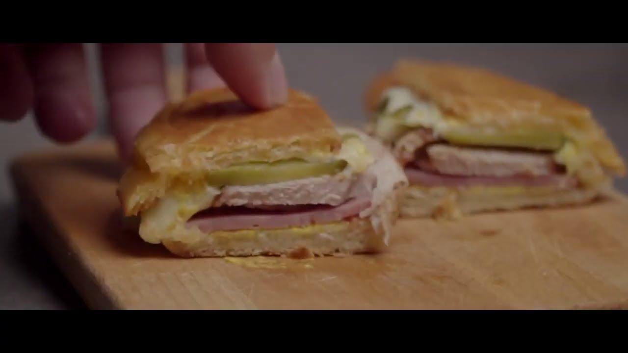 【桂冠經典黑胡椒醬】黑胡椒豬肉古巴三明治