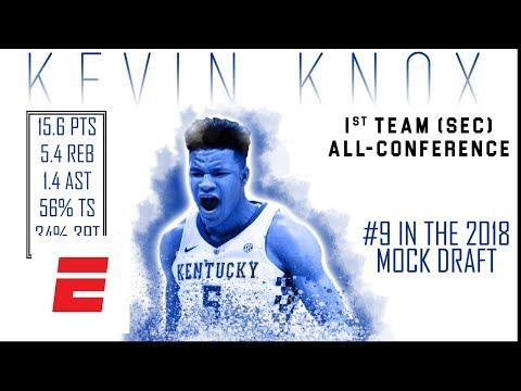 Kevin Knox's 2018 NBA Draft Scouting Video   DraftExpress   ESPN