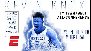 Kevin Knox's 2018 NBA Draft Scouting Video | DraftExpress | ESPN