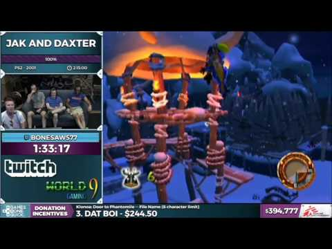 The Best Of SGDQ 2016 Jak and Daxter by Bonesaw577
