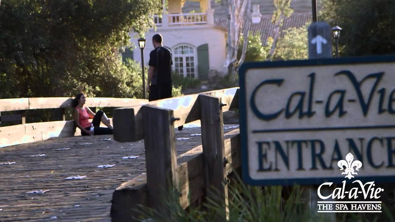 Cal a vie health spa youtube for Cal a vie health spa
