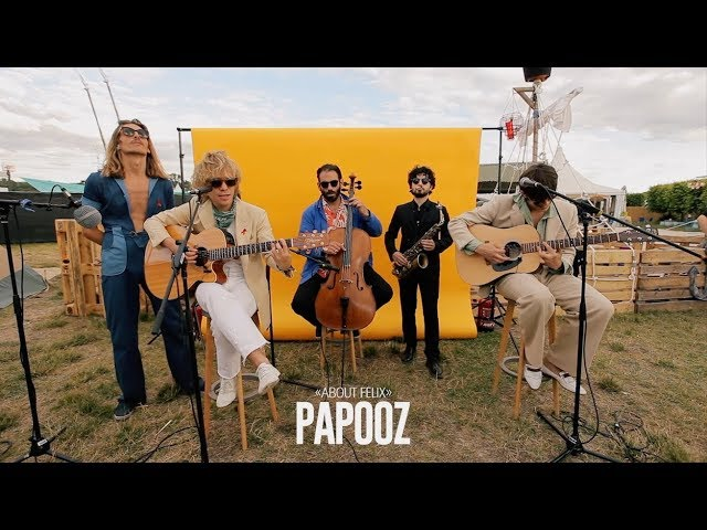 Session live inédite Papooz Solidays 2019