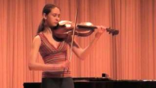 Rachyl Duffy - Viola - Bach Cello Suite 3, Mvmt IV. Bourree 1 & 2