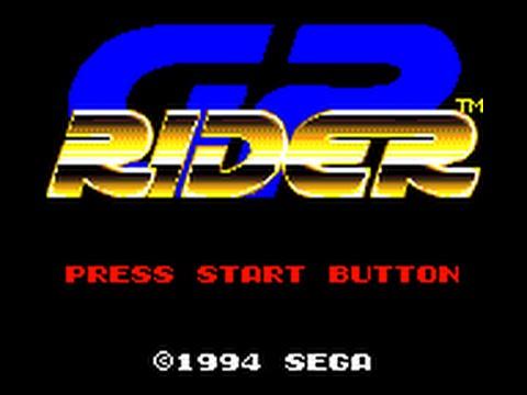 Game Gear Longplay [075] GP Rider