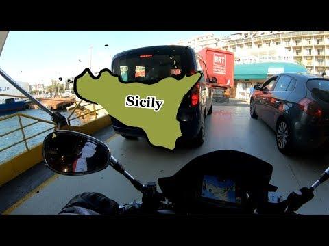 SBARCO In SICILIA - GIRO D'ITALIA In MOTO - Ep.5