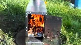 Печь отопительная дровяная буржуйка МИНИ - ALFATERM wood stove(Печь отопительная дровяная буржуйка МИНИ - ALFATERM - АЛЬФА-ТЕРМ., 2010-10-15T16:49:31.000Z)