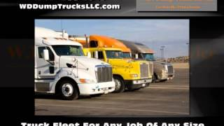 Hauling Service Gordonville PA - WD Dump Truck Service