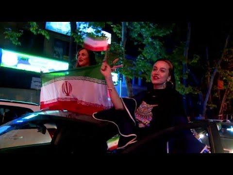 شاهد كيف احتفل الإيرانيون بفوزهم على المغرب في أول موعد لهم بالمونديال…  - 13:21-2018 / 6 / 16