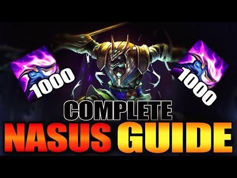 NASUS SEASON 7 FULL GUIDE | INSANE TIPS & TRICKS - League Of Legends