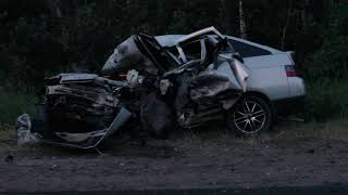 Ваз-2112 против Toyota-Estima