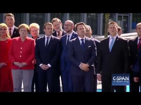 President Trump says NATO members must finally contribute their fair share (C-SPAN)