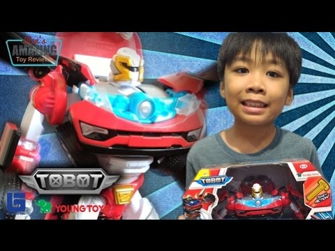 Tobot Z (Original Form) toy review