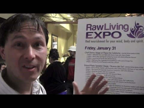 Raw and Living Food Expo Los Angeles 2014 Review