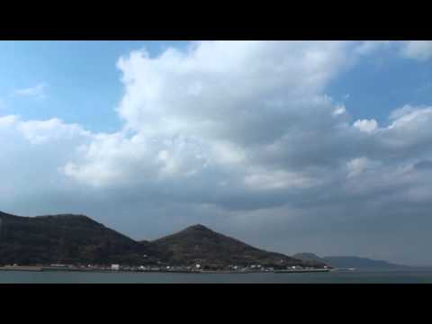 Relaxing Video of Seto Inland Sea, Japan【No sound 30min】