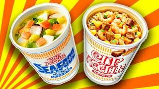 Лапша из Японии CUP NOODLE