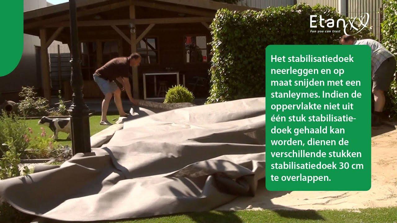 Kunstgras Op Tegels : Film leginstructies green4ever kunstgras tegels met valbeveiliging