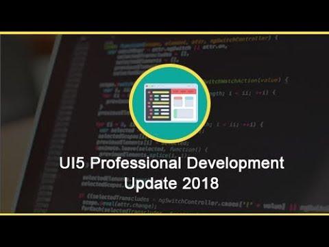 UI5 Professional Development Course Update(2018)