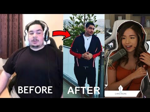Pokimane Reacts To Greekgodx Weight Loss Transformation 2017 - 2019