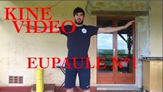 KineVideo // ÉPAULE 1 : routine d'échauffement et travail de mobilité. Paulin Mitev
