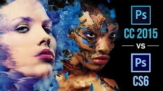 Photoshop CC 2015 vs CS6