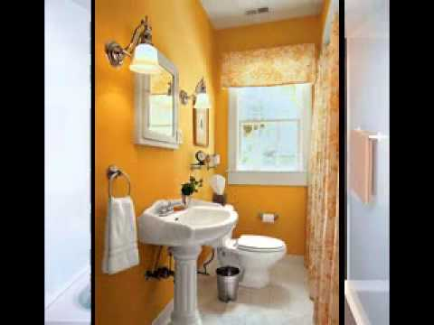 Small bathroom paint ideas - YouTube