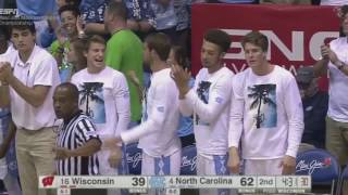 UNC Men's Basketball: Carolina Tops #16 Wisconsin, 71-56, for Maui Invitational Title