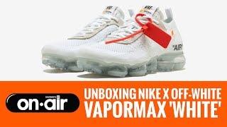 SBROnAIR Vol. 63 - Unboxing Nike Air Vapormax OFF-WHITE Branco  #piranomeuair