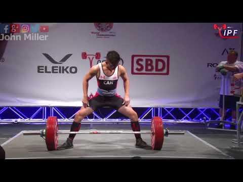 Derek Ng - 527.5kg 7th Place 59kg - IPF World Classic Powerlifting Championships 2018