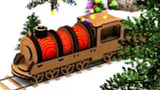 Build Your Own Wooden Train Engine!