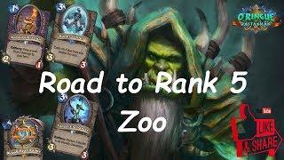 Hearthstone: Road to Rank 5 - Zoo Warlock #6: Rastakhan