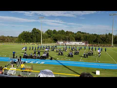 Shelbyville Central High School Marching Band at Middle Tennessee Small Band Championship 2018