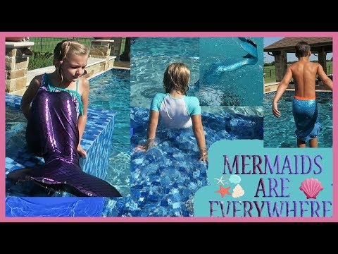 MERMAID MEET-UP POOL PARTY!
