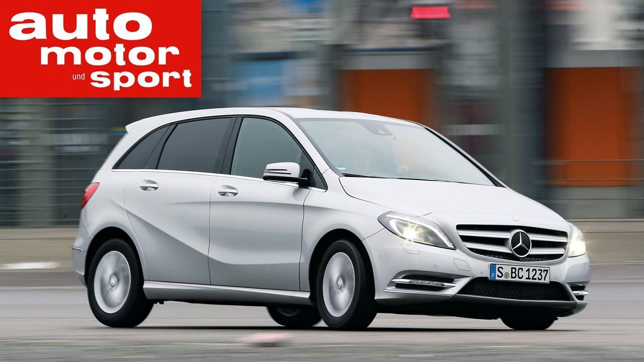 Fahrbericht mercedes benz b160 youtube for Mercedes benz watch