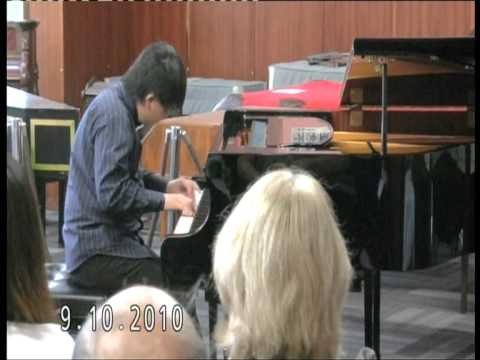 Prokofiev Sonata in A minor ( encore ) performs by Lawrence Ng ( 11 yrs old )