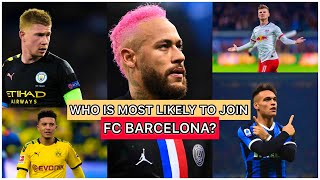 This video will explain the 5 players who are making noise around world of football. which one these end up in fc barcelona? i also wan...