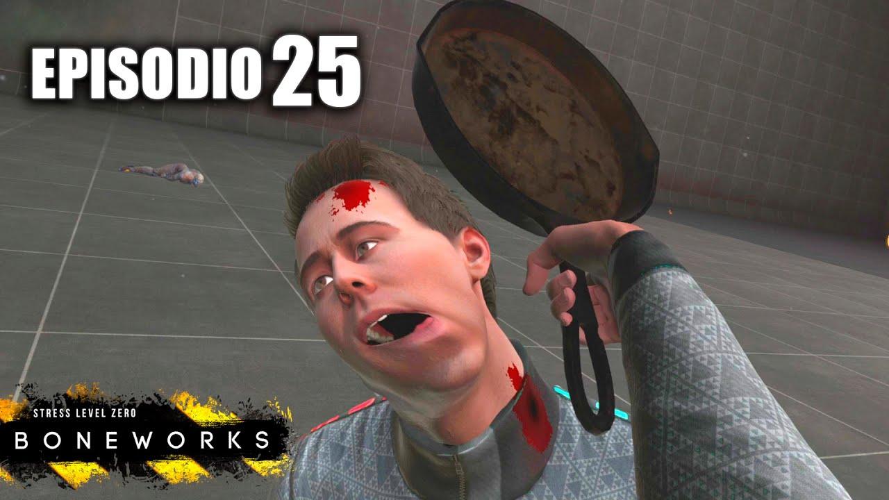 ESTE JUEGO NO ES VI0LENTO Episodio 25 - 🔥🔥BONEWORKS🔥🔥