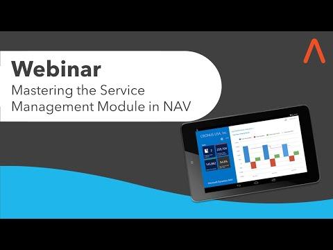 ArcherPoint Webinar: Mastering the Service Management Module