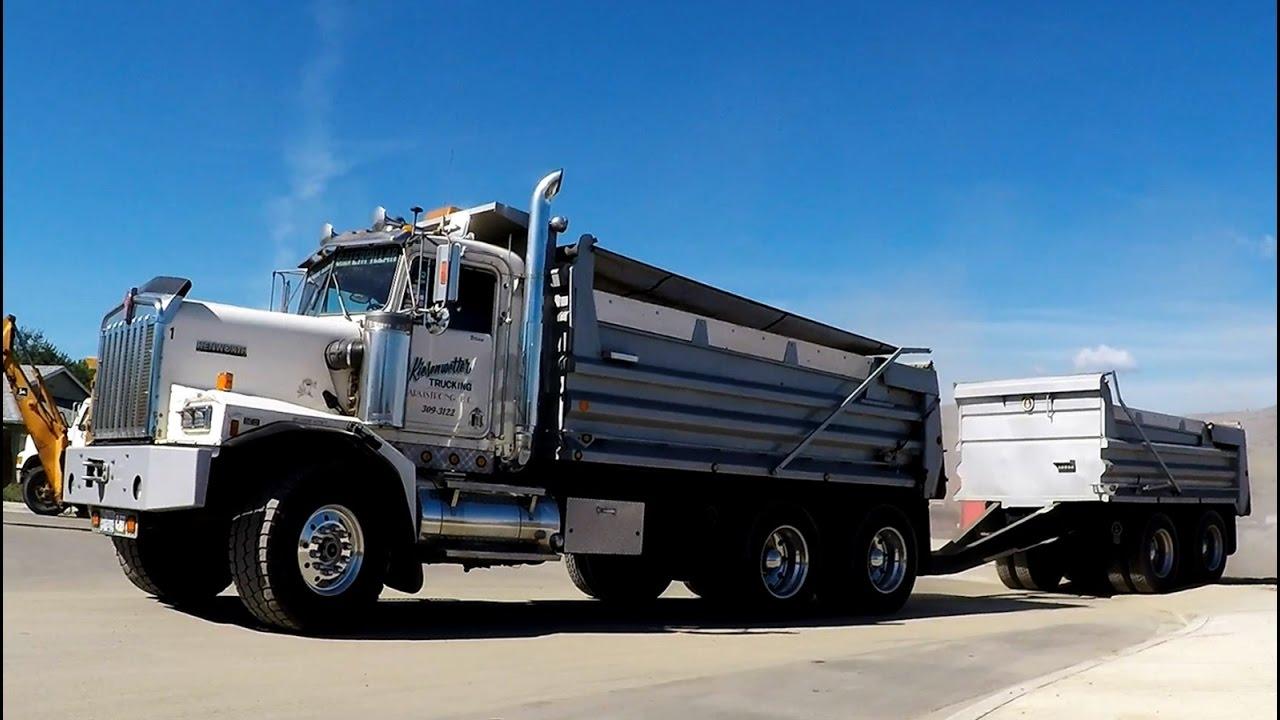 KENWORTH C500 DUMP TRUCK w/ PUP -- JOHN DEERE EQUIPMENT ...Kenworth Dump Trucks For Sale In Bc